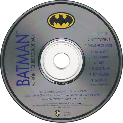 Prince - Batman - CD (45worlds.com)