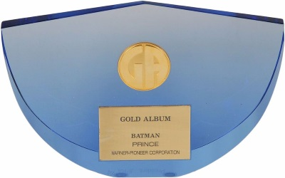 Prince - Batman - Gold award (icollector.com)
