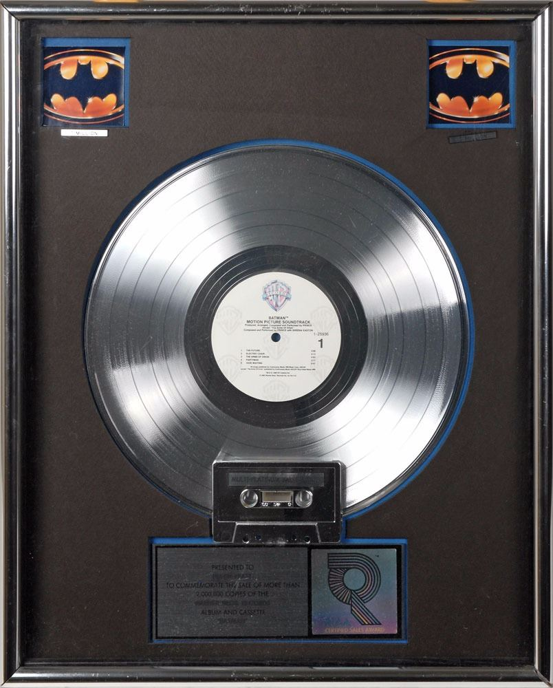 Prince - Batman - Platinum award (icollector.com)