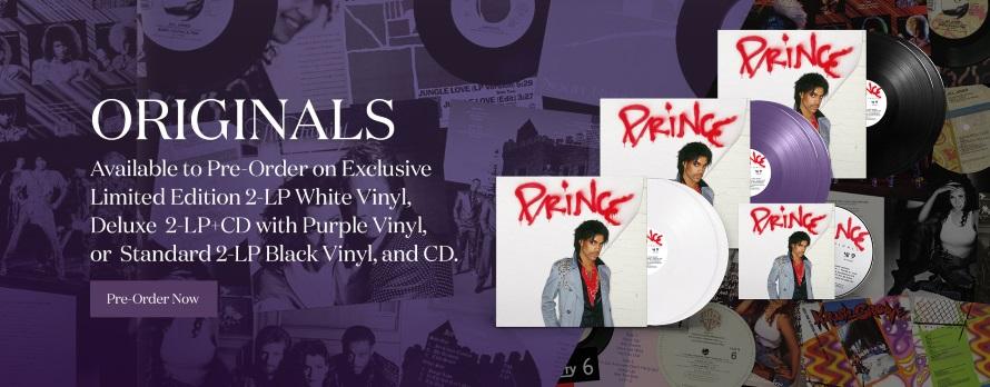 Prince - Originals - Header store.prince.com (store.prince.com)