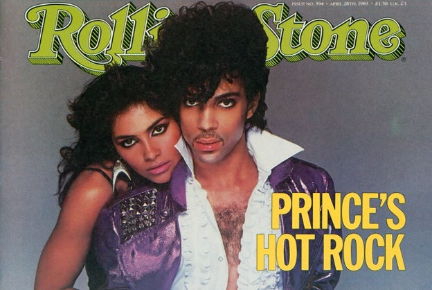 Prince on the cover of Rolling Stone magazine, April 1983 (rollingstone.com)