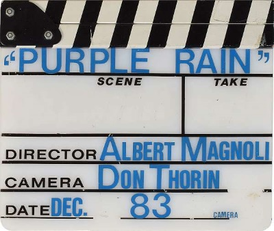 Purple Rain - Clapperboard (justcollecting.com)