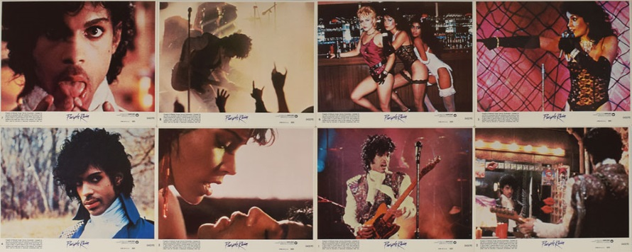 Purple Rain - Movie cards (rrauction.com)