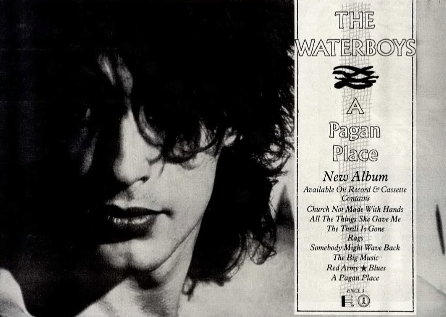 The Waterboys - A Pagan Place - Reclame (waterboys.co.nf)