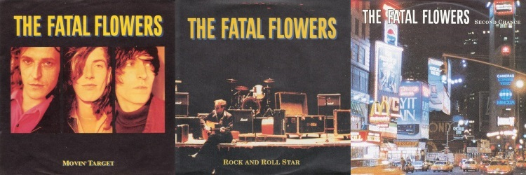 The Fatal Flowers - Johnny D. Is Back! - Singles: Movin' Target, Rock And Roll Star, Second Chance (discogs.com)
