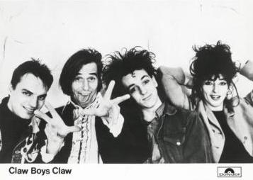 Claw Boys Claw - Polydor promotie (muziekencyclopedie.nl)