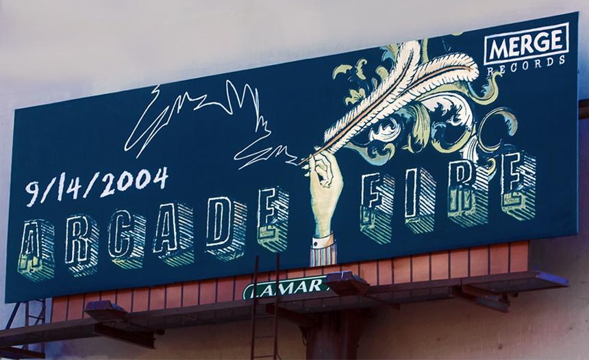 Arcade Fire - Funeral - Billboard (lamar.com)