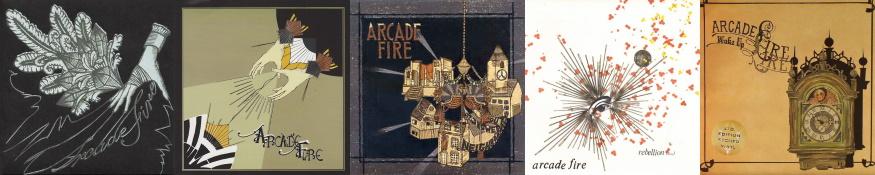 Arcade Fire - Funeral - Singles (discogs.com)