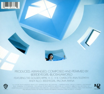 Prince - ART OFFICIAL AGE - Back cover (bol.com)