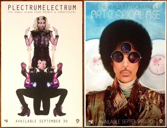 Prince - PLECTRUMELECTRUM and ART OFFICAL AGE - Ads (diffuser.fm)