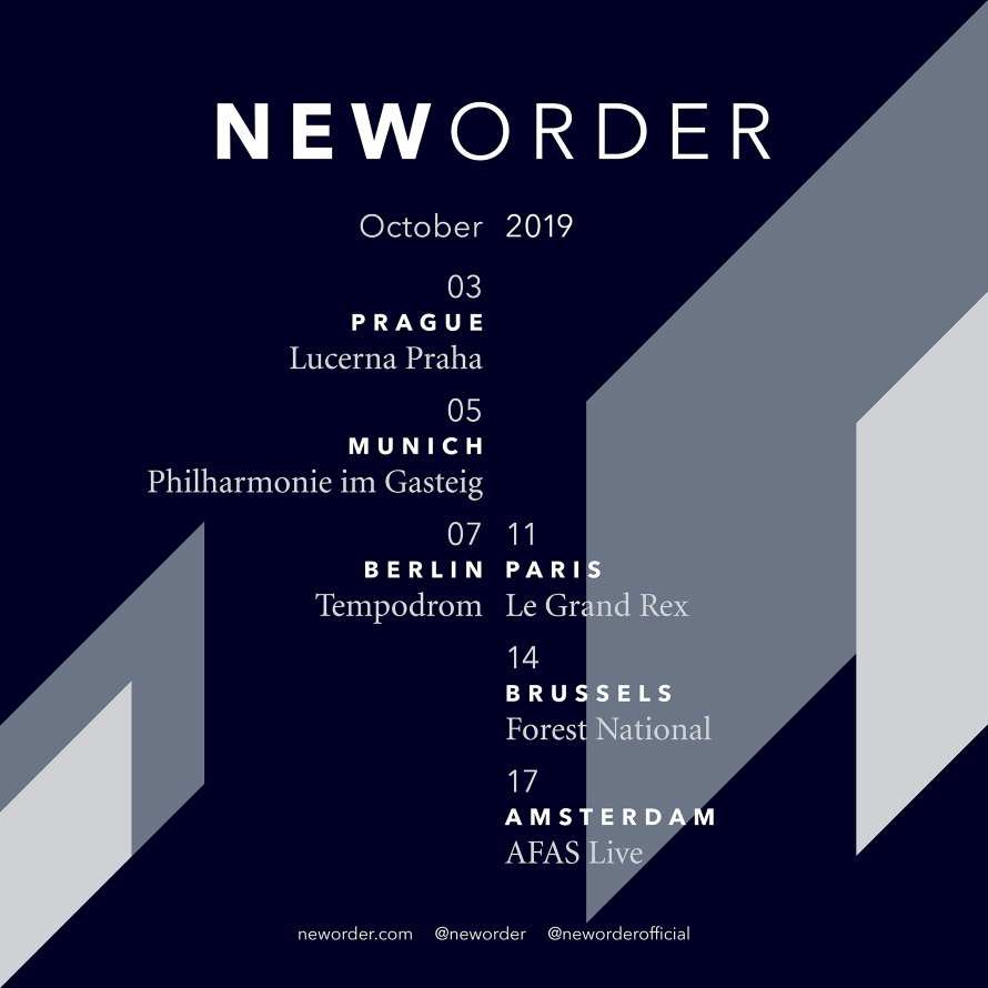 New Order Tour Oct 2019 (neworder.com)