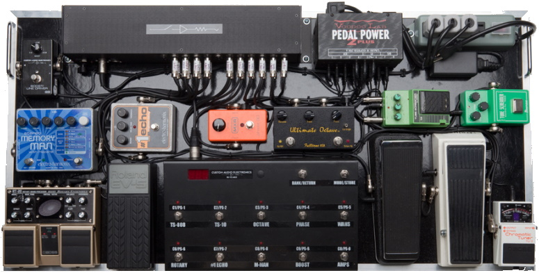 Jesse Johnson - Pedals board (jessejohnson.com)