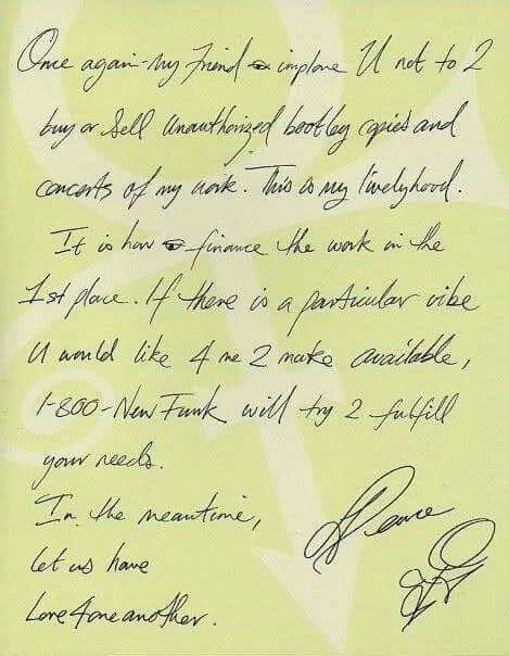 Prince - Open brief aan bootleggers 1996-1997 (apoplife.nl)