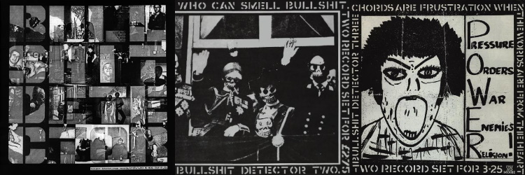Crass - Bullshit Detector Vol 1, 2 & 3 (discogs.com)