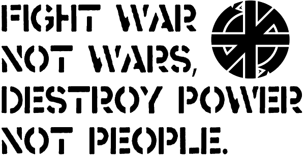 Crass - Fight War Not Wars Destroy Power Not People (storenvy.com)