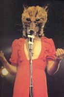 Genesis - Peter Gabriel with fox's head (pinterest.com)