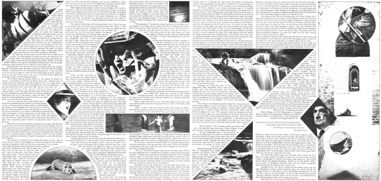 Genesis - The Lamb Lies Down On Broadway - Gatefold inside sleeve (progzilla.com)
