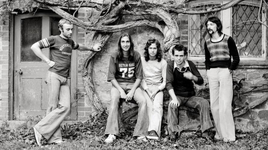Genesis in 1974 at Headley Grange (pinterest.com)