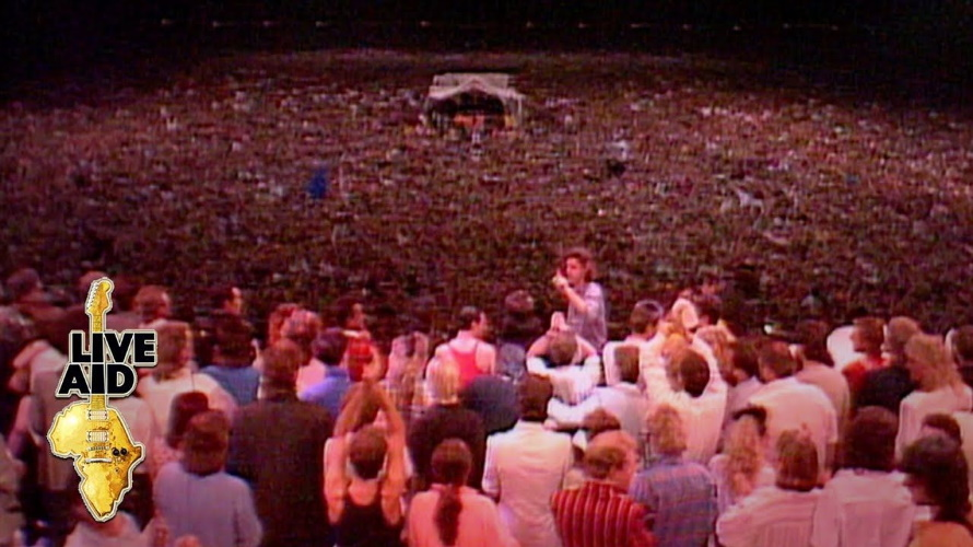 Band Aid at Live Aid (pinterest.com)