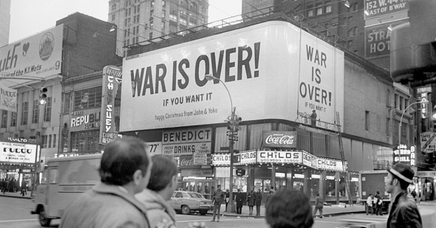 John Lennon - War Is Over - Billboards 1969 (commondreams.org)