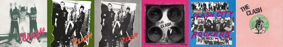 The Clash - 1977-1978 uitgaven (theclash.com)