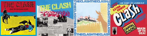 The Clash - 1978-1979 uitgaven (theclash.com)