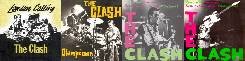The Clash - London Calling - Singles (theclash.com)