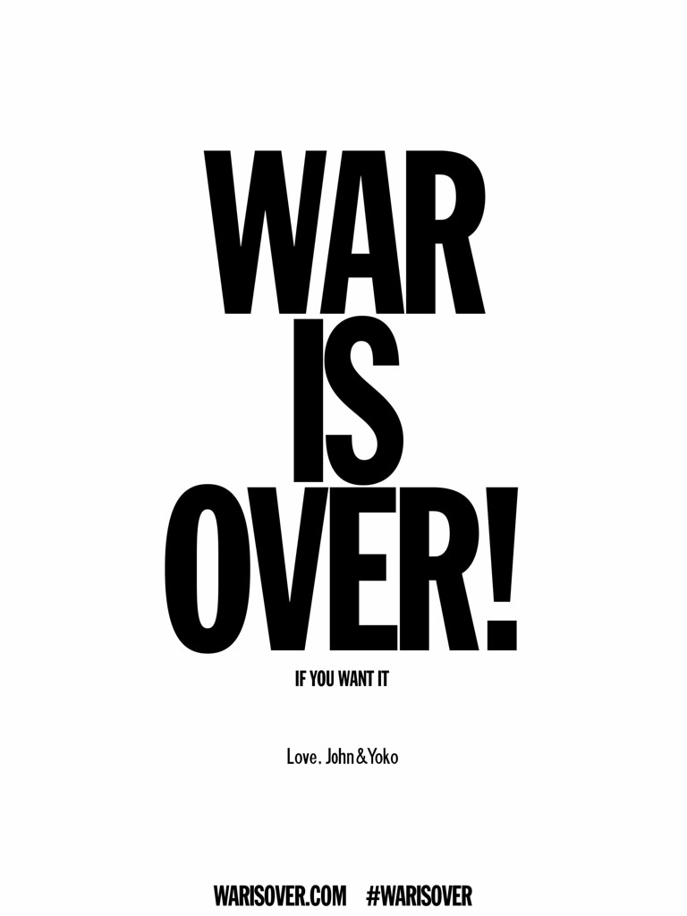 War Is Over - English (warisover.com)