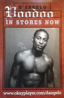 D'Angelo - Voodoo - Poster (ebay.com)