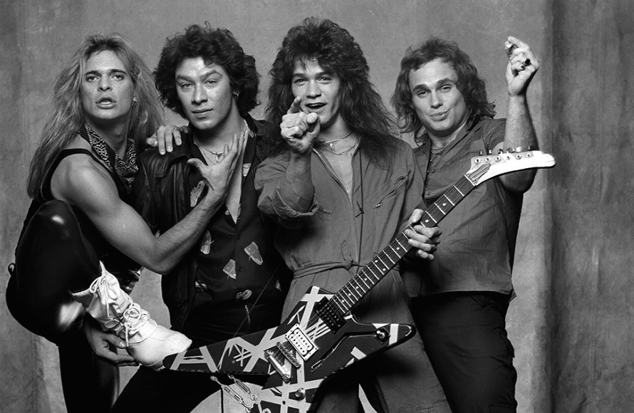Van Halen - Women And Children First - Back cover (photo by Norman Seeff) (medium.com)