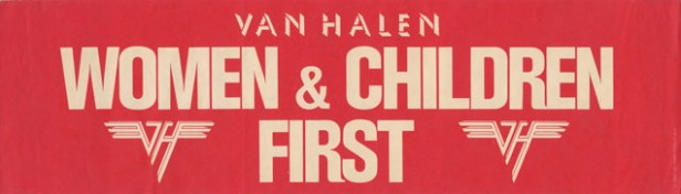 Van Halen - Women And Children First - Bumper-Sticker (vhnd.com)