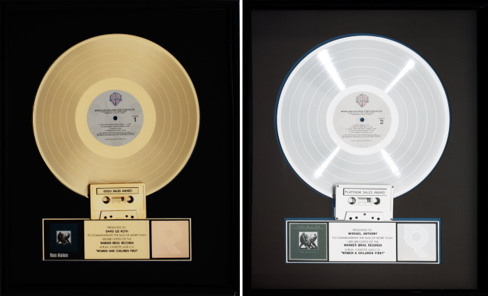 Van Halen - Women And Children First - Gold & Platinum Awards (ha.com)