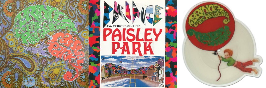 Prince And The Revolution - Paisley Park - Singles & Shape disc (discogs.com)