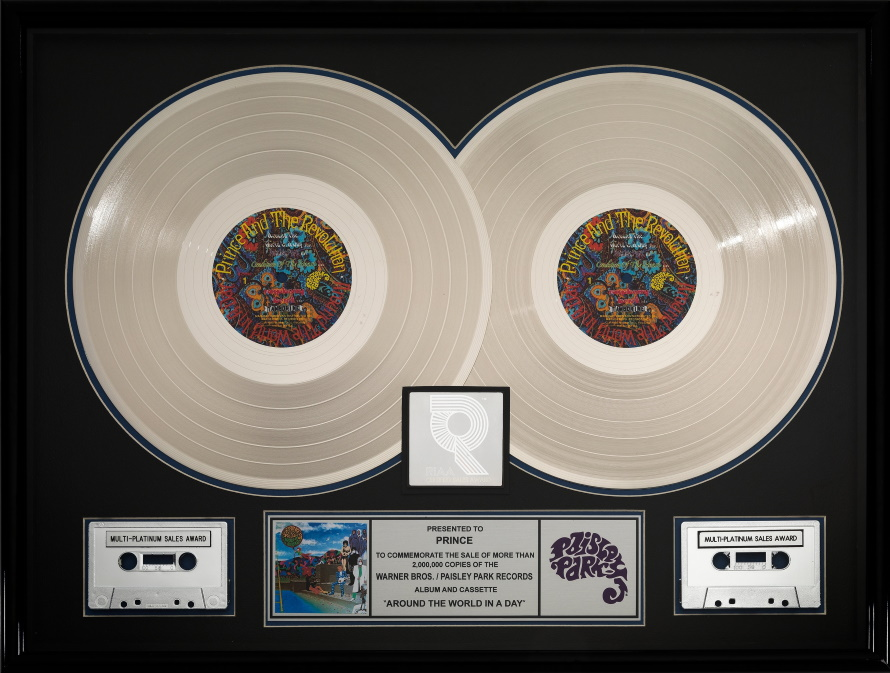 Prince - Around The World In A Day - Multi-Platinum Sales Award (ha.com)