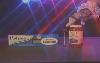 Prince - Spaghetti commercial (apoplife.nl)