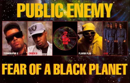 Public Enemy - Fear Of A Black Planet - Poster (pinterest.com)