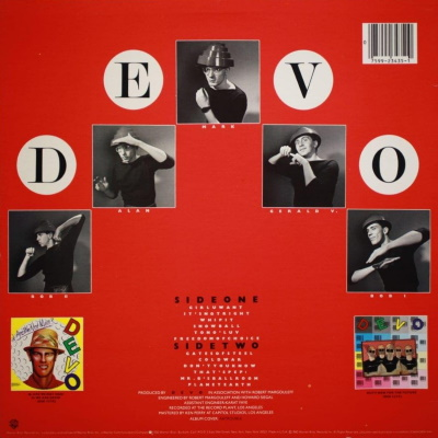 Devo - Freedom Of Choice - Back cover (genius.com)