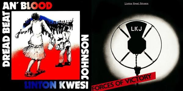 Linton Kwesi Johnson - Dread Beat An' Blood & Forces Of Victory (reggaediscography.blogspot.com)