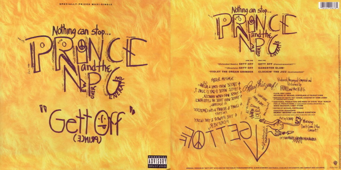 Prince And The NPG - Gett Off & Clockin' The Jizz (discogs.com)