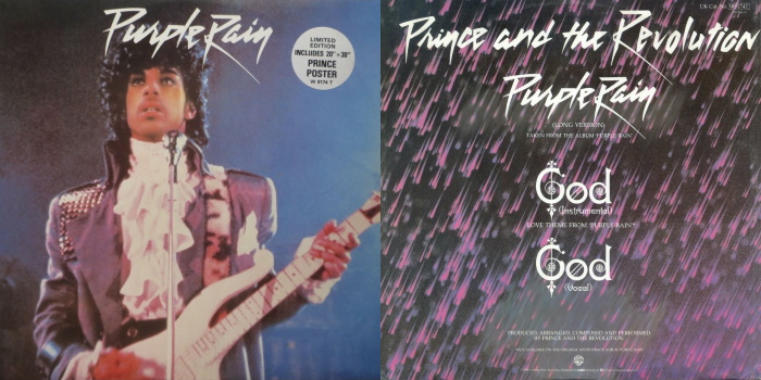 Prince And The Revolution - Purple Rain & God (Love Theme From Purple Rain) & God (discogs.com)