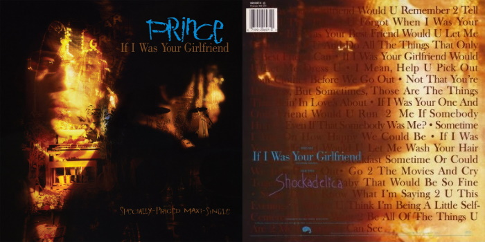 Prince - If I Was Your Girlfriend & Shockadelica (discogs.com)