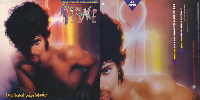 Prince - Let's Pretend We're Married & Irresistible Bitch (discogs.com)