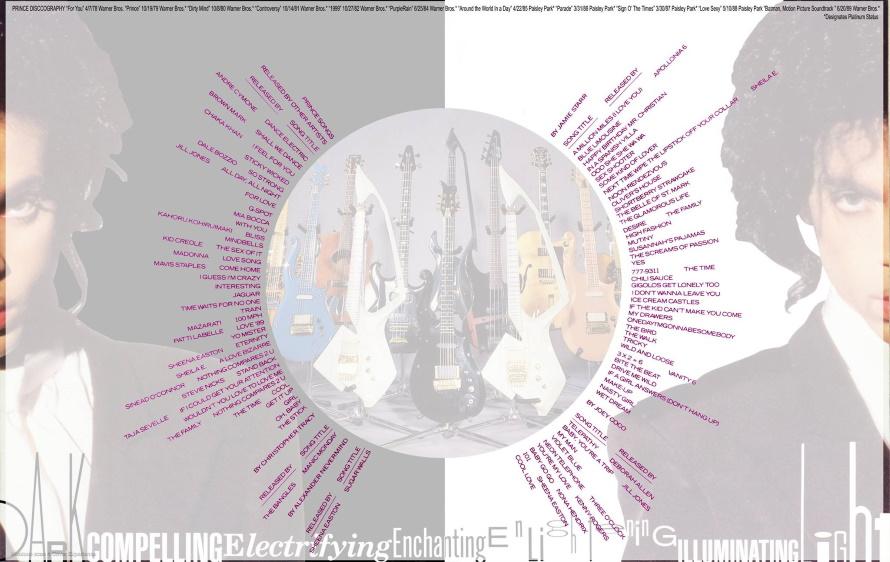 Prince - Nude Tour Book - Centerfold (facebook.com/prince-tour-books)