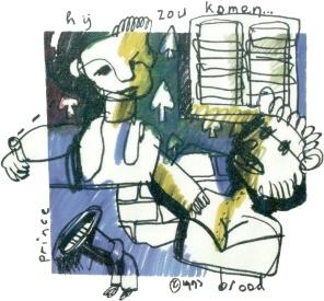 Herman Brood - prince hij zou komen (artandgold.com)