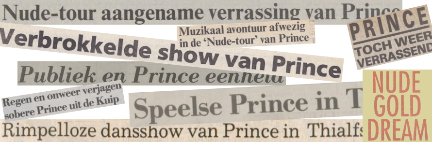 Prince - Nude Tour - Recensies (apoplife.nl)