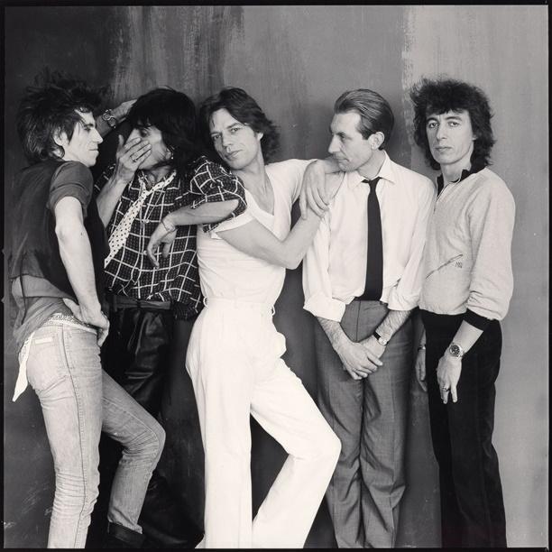 The Rolling Stones (Annie Leibovitz) 1980 (iorr.org)