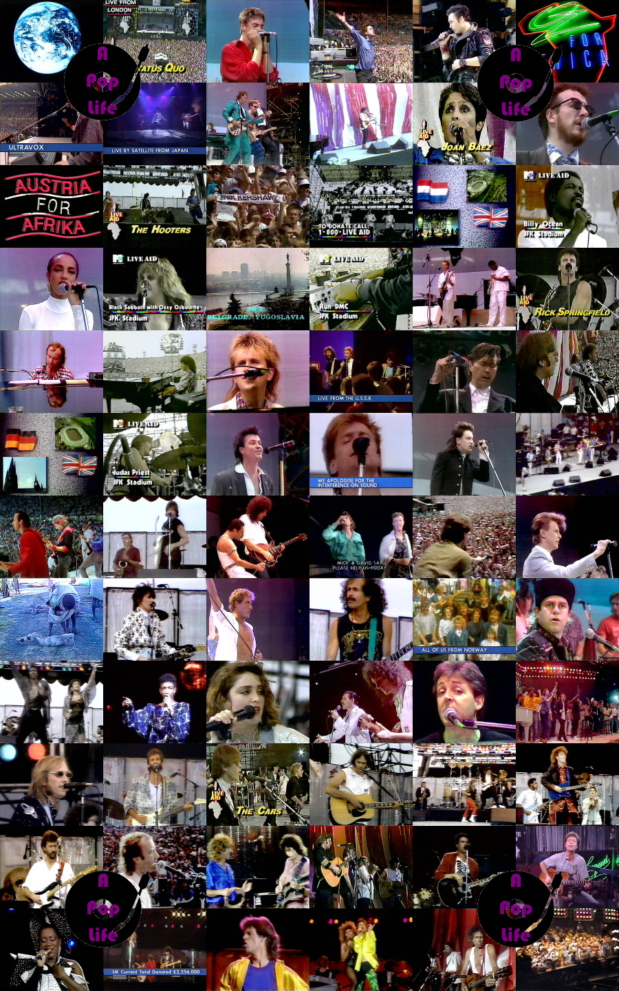 Live Aid Collage (apoplife.nl)