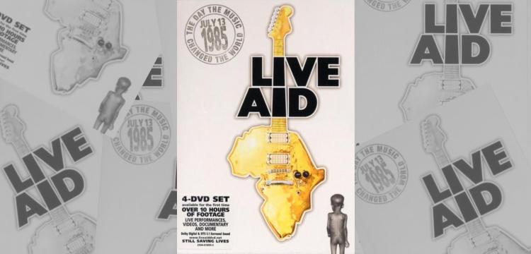 Live Aid DVD set (bol.com/apoplife.nl)