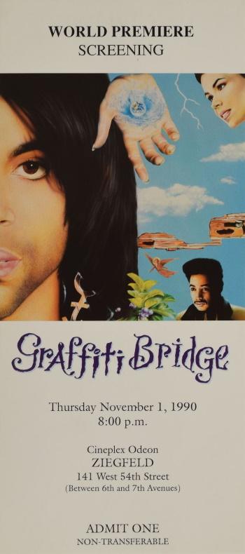 Prince - Graffiti Bridge - Film première (icollector.com)
