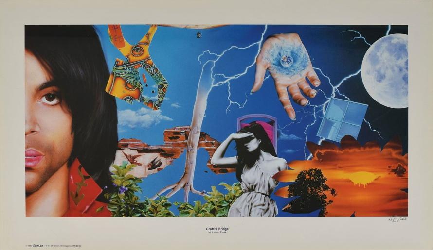 Prince - Graffiti Bridge - Steven Parke painting (icollector.com)